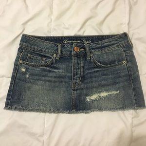 American Eagle Mini Jean Skirt